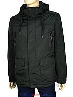 Демисезонная мужская куртка Black vinyl TC16-1127 C.21