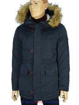 Удлиненная мужская зимняя куртка Kings Wind W001H