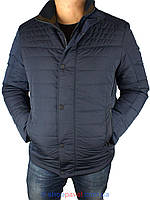 Стильная мужская куртка Santoryo WK 8145 темно-синего цвета