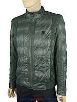 Мужская демисезонная куртка  Climber 0109/057 темно-зеленого цвета
