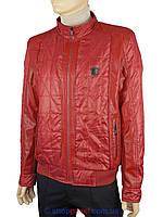 Кожаная Куртка Мужская Красная — Купить Недорого у Проверенных ... fe8dd1f406123
