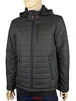 Мужская демисезонная куртка Malidinu 12-136102/1 в черном цвете
