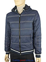 Стильная мужская куртка Malidinu 13611/24 в синем цвете