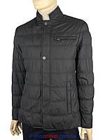 Демисезонная черная мужская куртка Malidinu 13959/1