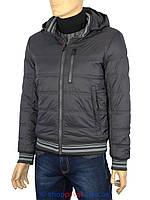Короткая мужская куртка Malidinu 14676/9E в черном цвете