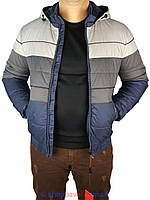 Стильная мужская куртка Malidinu 13020 на манжете
