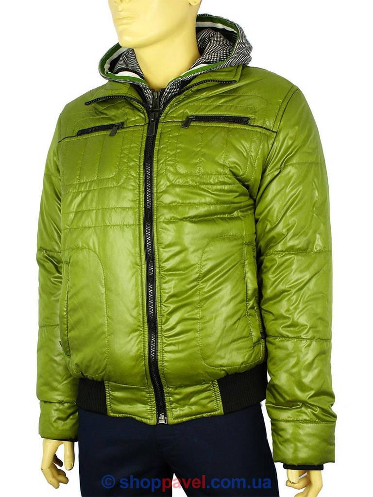 Зимняя мужская куртка Santoryo WK 7228 в зеленом цвете для настоящих ... eb7b78f182026