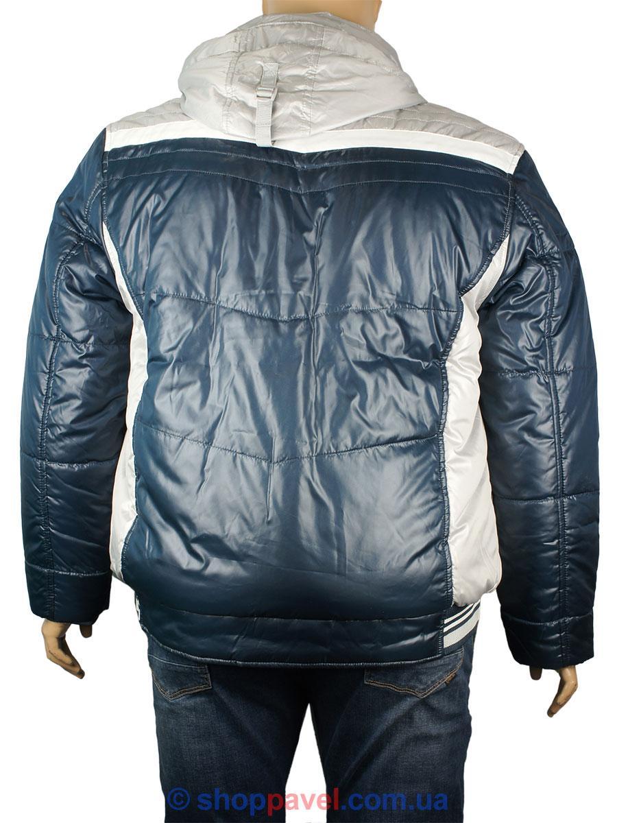 Короткая Мужская Зимняя Куртка Santoryo WK 7230 B в Синем Цвете — в ... 072bc117eea69