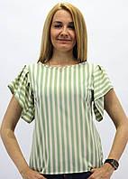 Эксклюзивная блуза с воланом