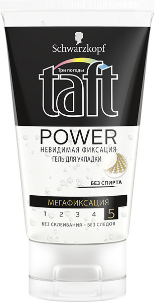 Гель для волос Taft Power Invisible, 150мл - Интернет - магазин 24x7 в Луцке
