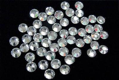 Стразы Swarovski crystal ,SS3(50 шт) в баночке