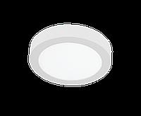 Світильник стельовий LRPS 12Вт 4200K IP20 накл. круг. білий 170mm