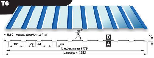Профнастил Прушински  Т 8 РЕМА 0.5 мм, фото 2