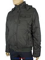 Короткая мужская зимняя куртка Santoryo WK 7224#antrasit