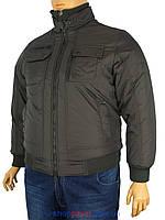 Зимняя мужская куртка цвета хаки Santoryo WK 5010 B в большом размере
