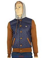 Мужская стильная демисезонная куртка Fuga Ibiza K 893