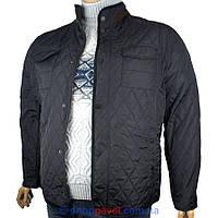 Мужская демисезонная куртка Santorio SM 8207 B большого размера