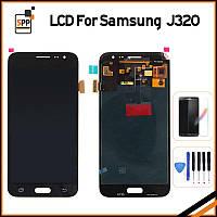 LCD модуль для J3 J320F J320M J320Y (сенсор, дисплей, экран), фото 1
