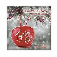 """Ароматическое саше Le Blanc """"Счастливые праздники"""" (Сладкое яблоко). В наличии 2 шт"""