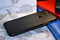 """Виниловая наклейка """"Чёрная кожа"""" Iphone 6 PLUS / 6S PLUS (0,17 mm)"""