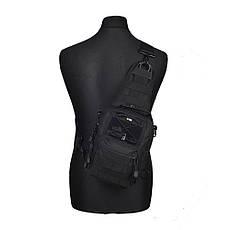 M-Tac сумка Urban Line City Patrol Carabiner Bag, Black, фото 3