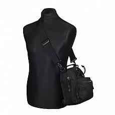 M-Tac сумка Urban Line City Patrol Carabiner Bag, Black, фото 2