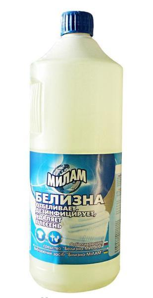 Отбеливатель Милам Белизна 1л - Интернет - магазин 24x7 в Луцке