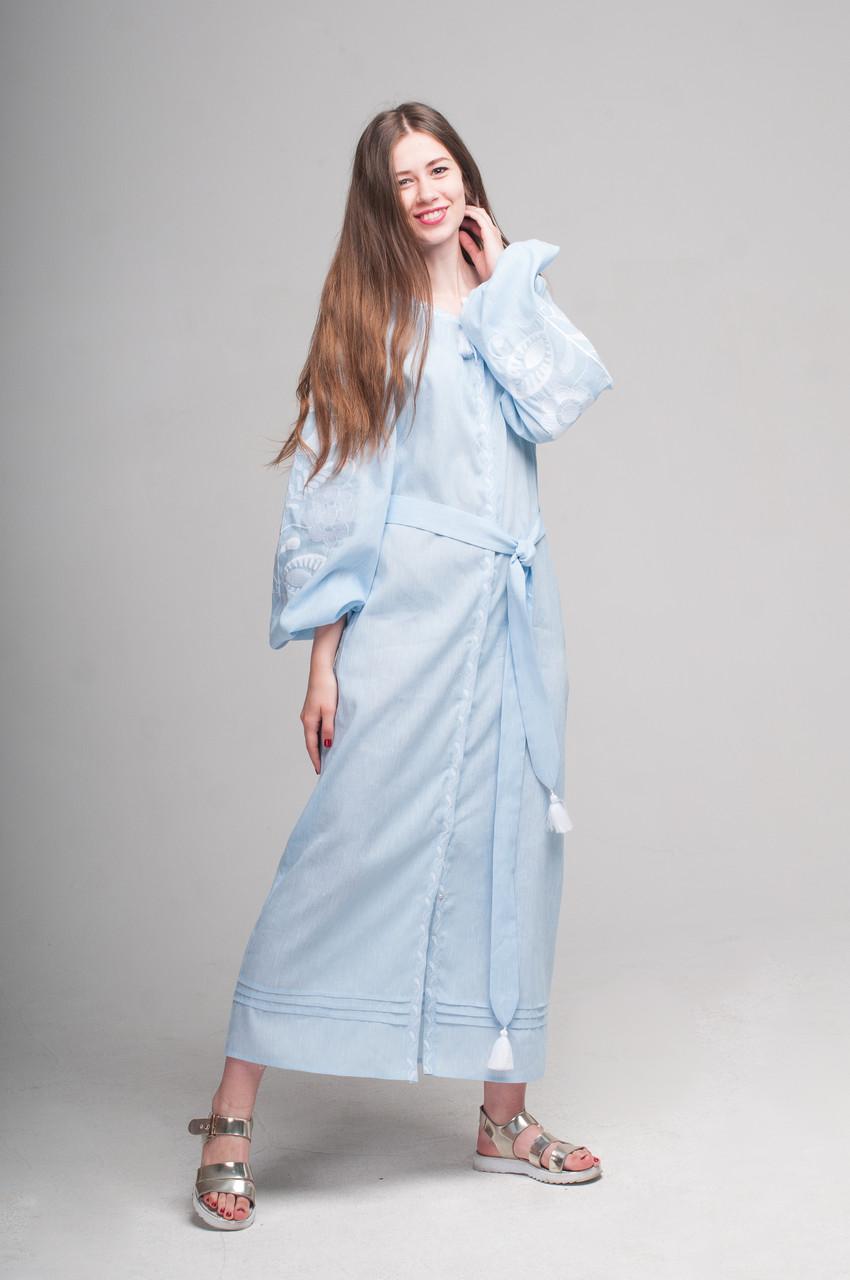 """Сукня вишита """"Ружа-максі"""""""