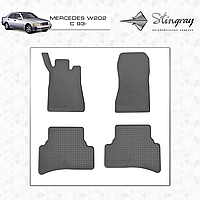 Автомобильные коврики Stingray Mercedes W202 1993-