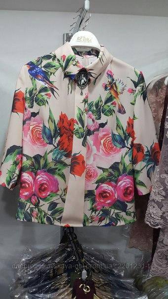 Классическая турецкая блузка Kedma копия D&G