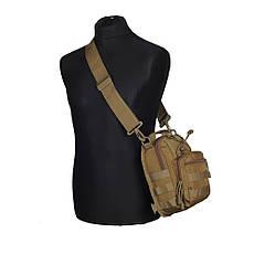 M-Tac сумка Urban Line City Patrol Carabiner Bag, Coyote, фото 2