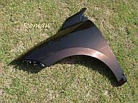 Крыло переднее левое Renault Megane 3 коричневое