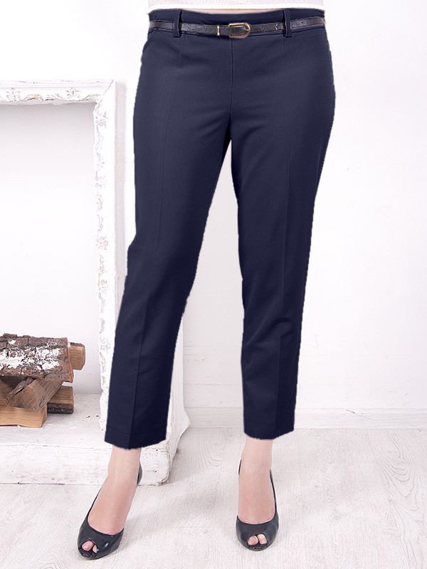 """Женские брюки большого размера """"Шейх 4"""" укороченные"""