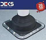 Кровельный проход 5-127мм Dektite Premium (Master Flash) для металлических и битумных крыш, фото 5