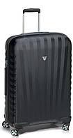 Оригинальный пластиковый большой чемодан 85 л., 4-х колесный Roncato UNO ZSL PREMIUM  5166 0101, черный