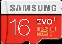Карта памяти Samsung microSDHC 16GB EVO Plus Class 10 UHS-I (MB-MC16DA/RU)