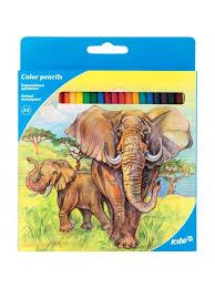 "Набор карандашей ""Животные"", 24 шт. Kite K17-055-1"