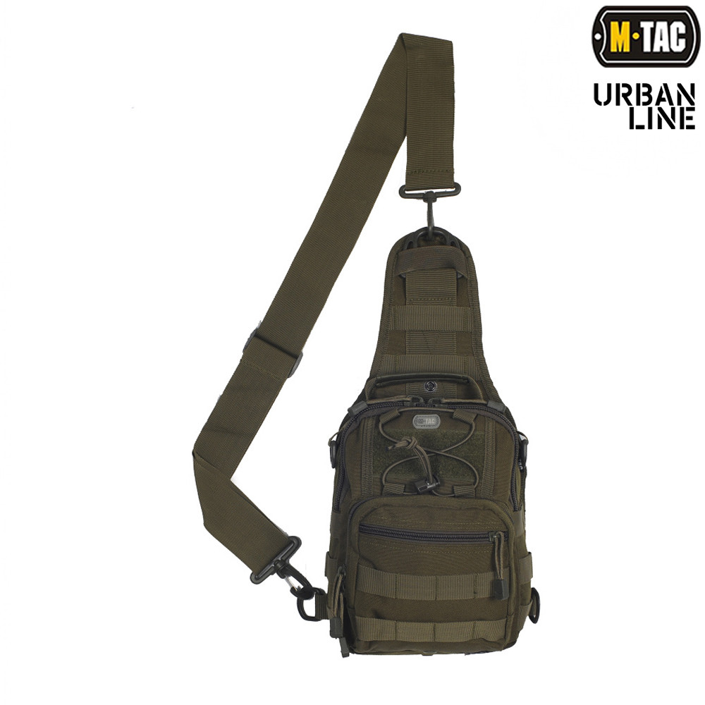 M-Tac сумка Urban Line City Patrol Carabiner Bag, Olive