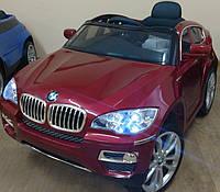 Детский электромобиль BMW х 6 (JJ 258) автопокраска, бордо