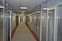Офисные перегородки с жалюзи, фото 1
