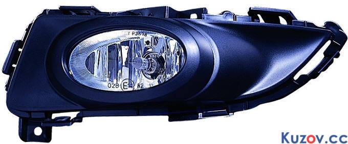 Противотуманная фара (ПТФ) Mazda 3 04-06 хетчбек левая (Depo) 216-2011L-UQD, фото 2