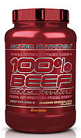 Scitec Nutrition 100% Beef Concentrate малина и сливки