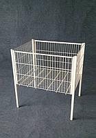 Акционный стол корзина напольная 600х800х850(h)