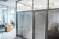 Офисные перегородки алюминиевый профиль