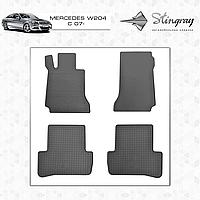Автомобильные коврики Stingray Mercedes W204 C 2007-