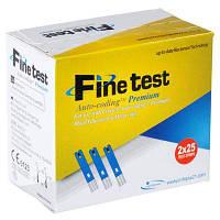 Тест-полоски Файнтест (Fine Test), 50шт
