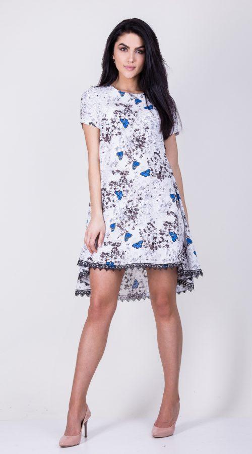 e6bc451140a Нежное летнее платье из легкой ткани размер  44