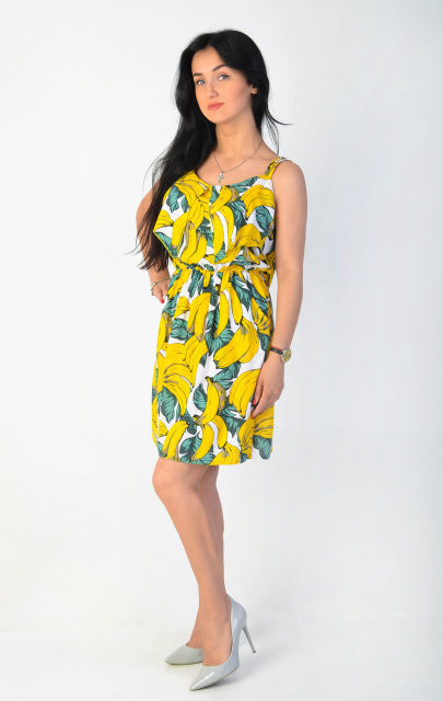 76979aafbd6e32c Молодежный сарафан простого кроя - Оптово - розничный магазин одежды