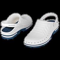 Обувь медицинская Wock, модель CLOG02 (сине-белые) р.43 / 44