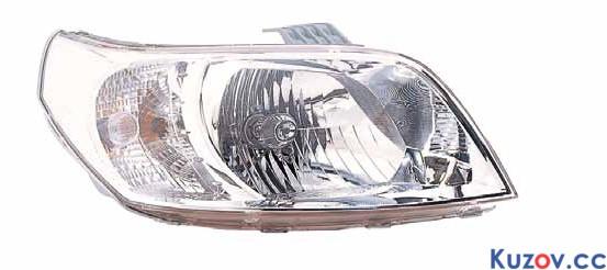 Фара Chevrolet Aveo T255 (08-12) правая (Depo) электрич. 235-1105RMLD-EM 96650755